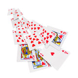 Playing cards poker casino Stock Photos
