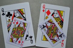 Playing cards. Poker. Game royalty free stock photography