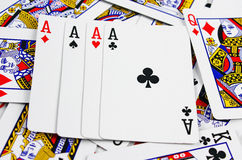 Playing Cards Stock Images