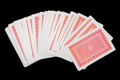 Playing cards (suits) Stock Photo