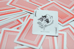 Playing cards two Stock Image