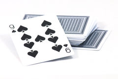 playing cards. On white background Stock Photography