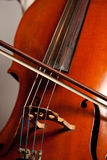 Playing the cello Stock Image
