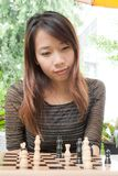 Playing Chess Stock Photos