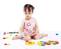 The playing child Royalty Free Stock Images
