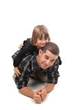 Playing with child Royalty Free Stock Photos