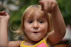 Playing child stock photos