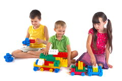 Playing children Royalty Free Stock Photo