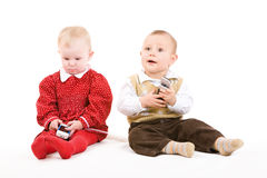 Playing children Royalty Free Stock Photos