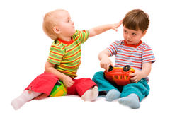 Playing children Stock Images
