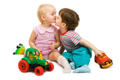 Playing children Stock Photography