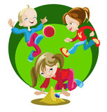Playing children Royalty Free Stock Images