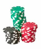 Playing chips Stock Images
