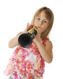 Playing Clarinet Royalty Free Stock Photo