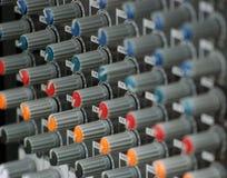 Audio mixer. Picture of  a audio mixer Stock Image