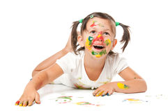 Playing with colors Royalty Free Stock Images