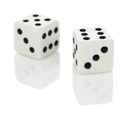 Playing dice Stock Photography