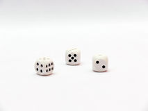 Playing Dice Stock Images