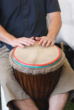 Playing the Drum Stock Photography