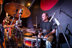 Playing drums Stock Photography