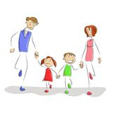 Playing Family Stock Images