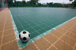 Playing Field For Futsal. Royalty Free Stock Image