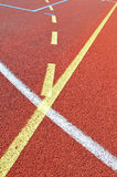 Playing Field Lines Royalty Free Stock Photos