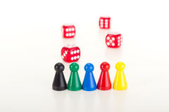 Playing a game Royalty Free Stock Images