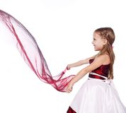 Playing girl Royalty Free Stock Images