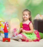 Playing girl Stock Photos
