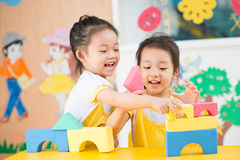 Playing girls Royalty Free Stock Images