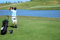 Playing golf. Golf Stock Images