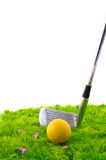 Playing golf Royalty Free Stock Photos