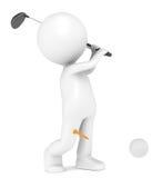 Playing Golf Royalty Free Stock Photos