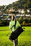 Playing golf Stock Photos