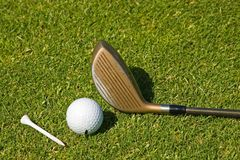 Playing Golf Royalty Free Stock Photo