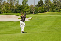 Playing Golf royalty free stock images