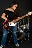 Playing Guitar Royalty Free Stock Image