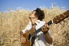 Free Playing Guitar Royalty Free Stock Photos - 1123148