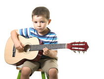 Free Playing Guitar Stock Photo - 12468120
