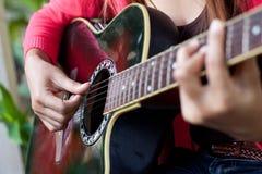 Free Playing Guitar Stock Image - 24558061