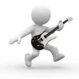 Playing Guitar Royalty Free Stock Photos