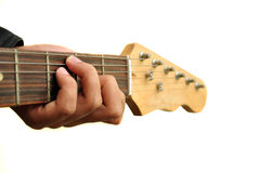 Playing the Guitar Stock Photography