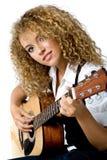 Playing Guitar Stock Photography