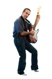 Playing The Guitar Royalty Free Stock Images