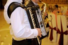 Playing Harmonica Royalty Free Stock Photos
