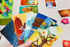 Free Playing In Dixit Card Game Stock Photo - 37619790