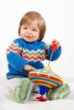 Playing Kid Royalty Free Stock Image