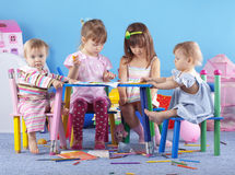 Playing kids Royalty Free Stock Photo