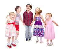 Playing kids Royalty Free Stock Image